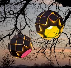 modern and colorful outdoor lamps by bysteel