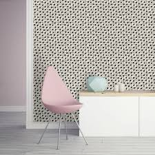 connect self adhesive wallpaper in black on paper by bobby berk