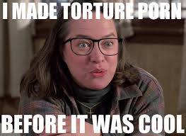 Porn Memes - kathy bates misery hipster glasses torture porn memes