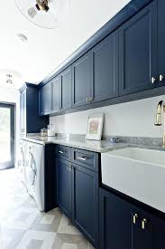 contemporary laundry room cabinets stunning contemporary laundry room is fitted with blue shaker
