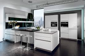 cuisine blanc et noir cuisine blanche moderne cuisine best ideas about bois et noir on