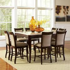 Steve Silver Dining Room Sets Steve Silver Company Marseille 9 Piece Counter Height Dining Set