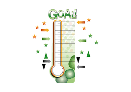 Dry Erase Fundraising Thermometer Wall Decal Shop Fathead For
