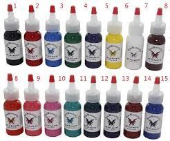 tattoo ink buy aliexpress com buy tattoo ink kit tattoo pigment set 1oz iron