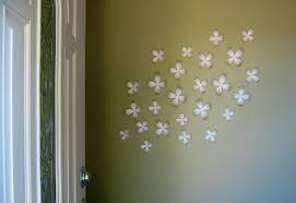 interior inspiring white wallflowers by umbra for wall decorating