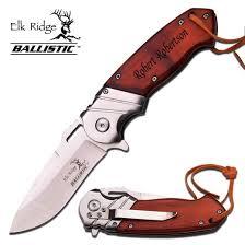 pocket knife with name engraved personalized elk ridge pocket knife free engraving