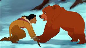 kenai attacks nita clip brother bear 2 brother bear 2