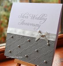 Invitation Cards For Weddings 25th Silver Wedding Anniversary Invitations 25th Silver Wedding