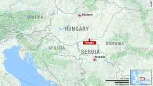 middle east map hungary hungary border use tear gas on migrants cnn
