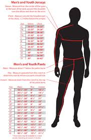youth motocross helmet size chart sizing chart