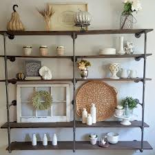 Build A Bookshelf Easy Diy Industrial Pipe Shelves Step By Step Tutorial On This Shelf