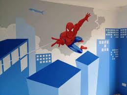 spiderman bedroom paint ideas