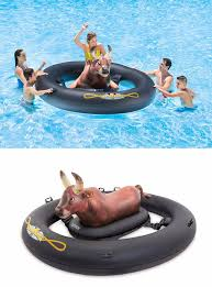 amazon pool floats sofia vergara inflatable bull pool float simplemost