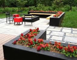 Modern Firepit Modern Firepit Patio Lotus Gardenscapes