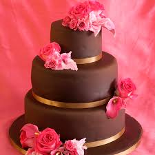 Best Chocolate Cake Decoration 3 Tier Chocolate Cakes Chocolate Wedding Cake Recipe And Cake