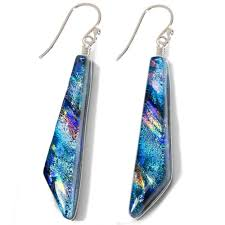 nickel free earrings looking glass falls nickel free earrings colorful reflections