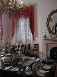 dining room of rosalie plantation natchez mississippi