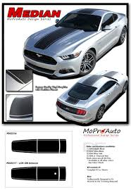 decals for ford mustang 2015 2016 2017 ford mustang gt v6 median decals stripe 3m pro
