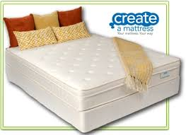 mattress plush pillowtop queen size mattress with split box spring