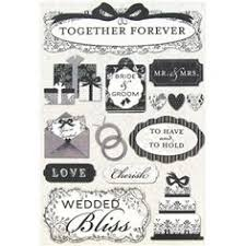wedding scrapbook stickers foster design together forever cardstock stickers shop