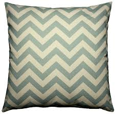 Nicole Miller Decorative Pillows by Amazon Com Jinstyles Chevron Striped Cotton Canvas Decorative