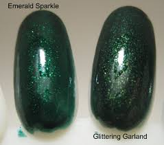 china glaze glittering garland my lucid