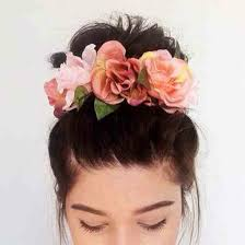 flower hairband hair accessory wedding flower crown accessories