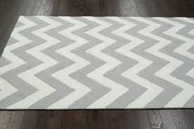 Solid Grey Rug Decorating Ideas Awesome Image Of Rectangular Zigzag Pattern Grey