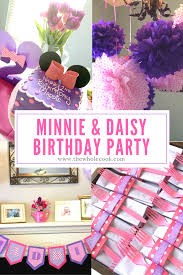 minnie u0026 daisy birthday party cook