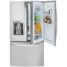 Cabinet Depth Refrigerator Reviews Kenmore Elite 74053 23 5 Cu Ft Counter Depth Bottom Freezer