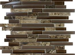 Mosaic Tile Backsplash Do You Suppose Limestone Mosaic Tile - Linear tile backsplash