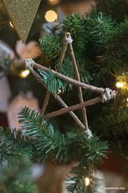 diy scandinavian wood star ornament christmas trees sterns and