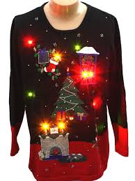 mens light up ugly christmas sweater ingenious inspiration ideas ugly christmas sweater with lights