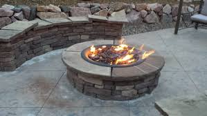 Custom Gas Fire Pits - fire pits design amazing incredible decoration gas fire ring
