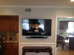 home theater connection to led tv samsung led tv and sound bar wall mount installation charlotte