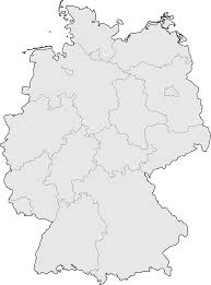 Germany Physical Map by Germany Blank Map U2022 Mapsof Net