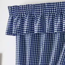 Gingham Curtains Blue Gingham Value Curtains Blue Free Uk Delivery Terrys Fabrics