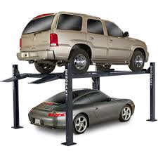 Backyard Buddy Lift Reviews Bendpak 4 Post Car Lift 7 000 Lb Capacity Hd 7w