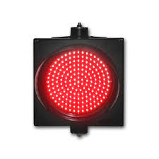 led traffic signal lights high quality new design single light 300mm red color led traffic