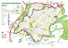 Leaflet Google Maps Riverside Walk Map U0026 Info Horsham Town Community Partnership