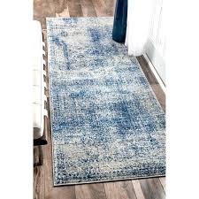 blue runner rug vintage distressed blue runner rug navy blue bath