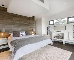chambre en bois blanc ambiance dans les tons gris et blanc pour cette agréable chambre le