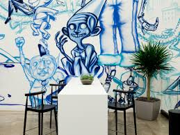 Mural Art Designs by The Amazing Murals Created By Facebook U0027s Artists In Residence Wired