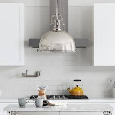 Polished Nickel Pendant Lights Greenwich Pendant Polished Nickel Williams Sonoma