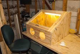 Homemade Blast Cabinet Diy Blasting Cabinet Best Diy Do It Your Self