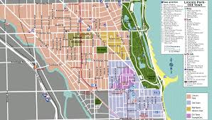 Chicago Tourist Map File Lincoln Park Map Png Wikimedia Commons