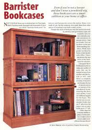 Plans Wood Bookcase by Barrister Bookcase Plans U2022 Woodarchivist