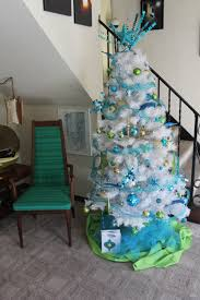 blue green and silver decorations rainforest islands ferry