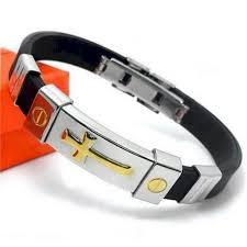 metal silicone bracelet images Buy cross bracelets online christian cross bracelets free shipping jpg