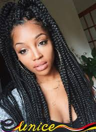 box braids with 2 packs of hair hot 2packs ombre kanekalon braiding hair expression ombre jumbo